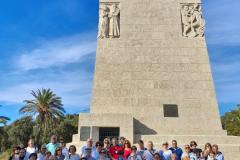 Grupo en la Costa de Huelva Puente del Pilar  (octubre 2021)