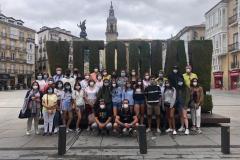 Grupo en Vitoria (Mayo 2021)
